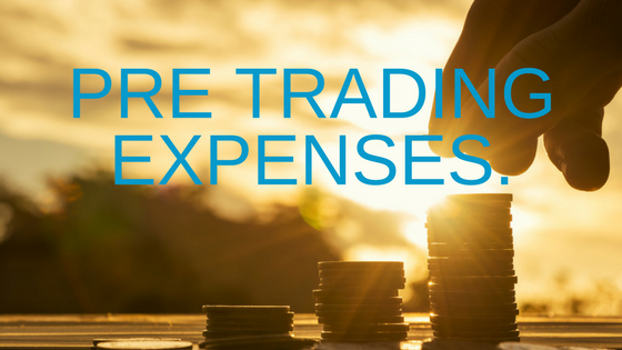 Pre-Trading Expenses